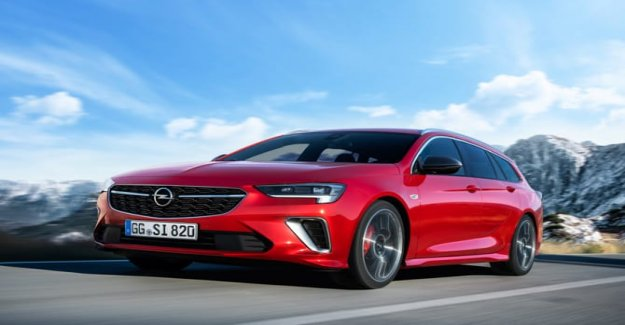 Opel Insignia GSi, the flagship whole muscles