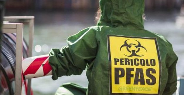 Pfas, in the Veneto, among the most serious emergencies for health and the environment