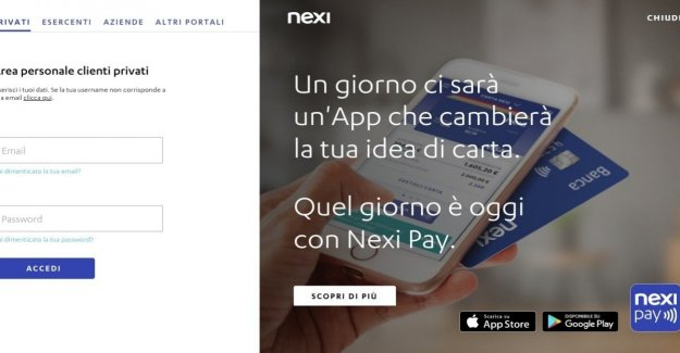 Phishing, yet another scam email: targeted users Nexi-CartaSì