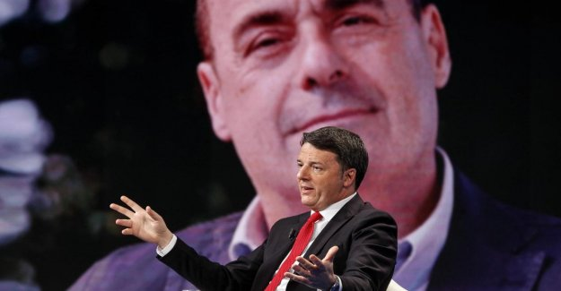 Renzi attacks the Pd: I Thought they were reformists, but they just go to the trailer of the grillini