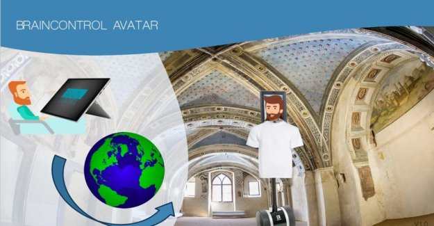 Sla, for the visit to the museum there is now an avatar