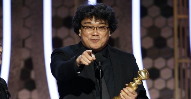 The Golden Globes: Parasite is the best foreign language film