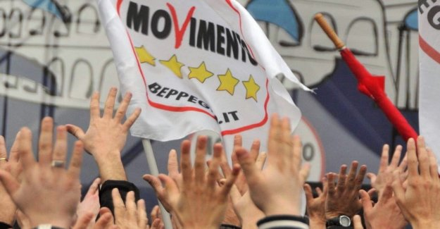 The M5s, Nitti and April leave the group in the Room: Methods of Movement intolerable