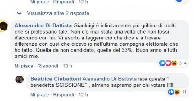 The M5s, Of the Baptist about the deportation of Gianluigi Comparison: it Is more cricket than many others. Beaks (M5S): Within a month out of the other two big