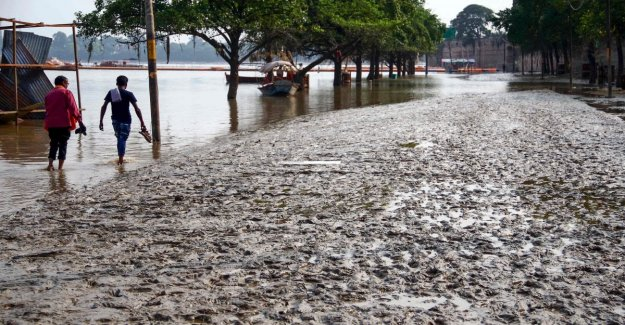 The climate, the damage caused by natural disasters multiplied in the last 50 years