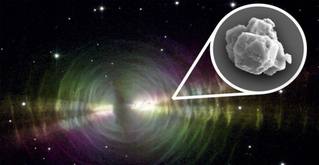 The more ancient star dust found in a meteorite