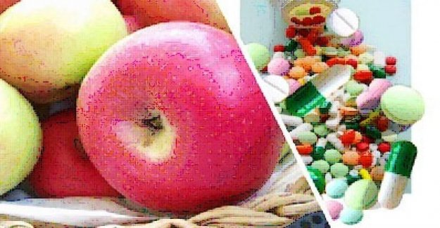 The pink apple a crisis caused by the earthquake becomes the fruit of health