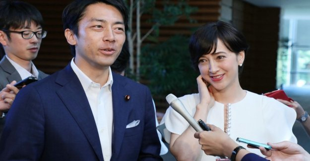 The revolution of minister Koizumi: two week home on paternity leave