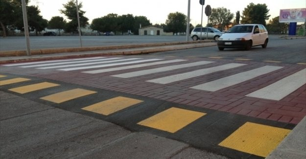 The road code changes: there is the idea of pedestrian crossings, raised against the fast cars
