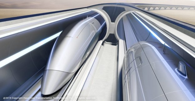The trains are ultra fast Hyperloop arrive in Italy. Or almost