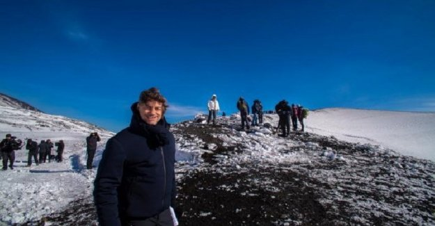 The 'wonders - The peninsula of treasures', Alberto Angela ends her journey, and the halls of mount Etna