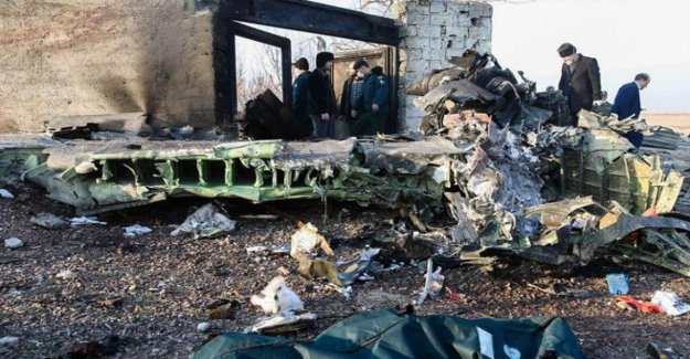 Ukrainian air dropped, the aviation of iran: he Came back for a problem