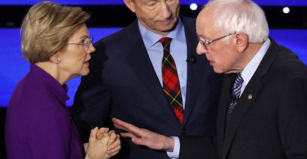 Usa, sparks, Sanders-Warren, but does not emerge a true leader
