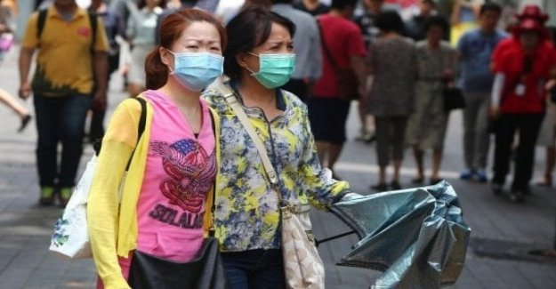 Virus chinese, third death, and 136 cases in two days