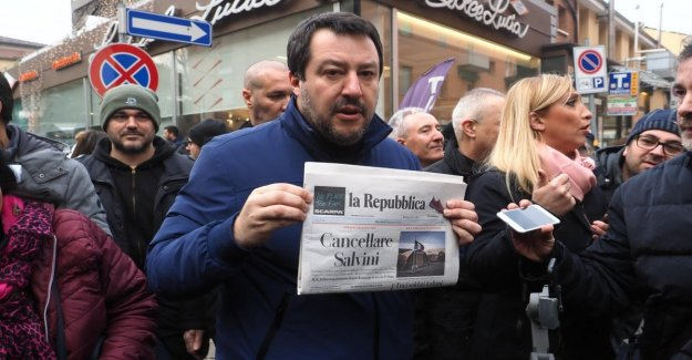 Yet, Salvini knows how to read