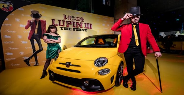 Abarth and Lupin, the story continues...