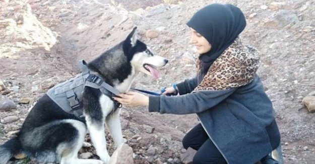 Afghanistan, they shoot at her Aseman and kill him: A woman can't have a dog