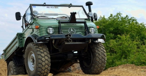 All crazy for the Unimog, the off-road and more extreme