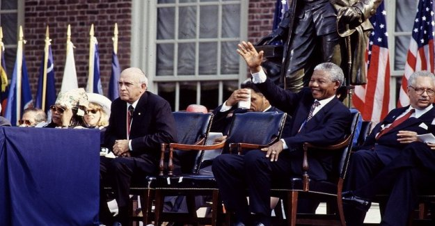Apartheid was not a crime: the storm on the former south african president