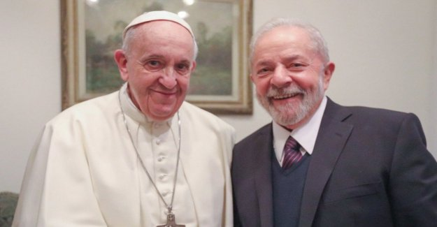 Brazil, former president Lula from the Pope: The world is inspired Francis. Then the meeting with the trade unions