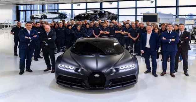 Bugatti Chiron, the product, the 250esimo exemplary