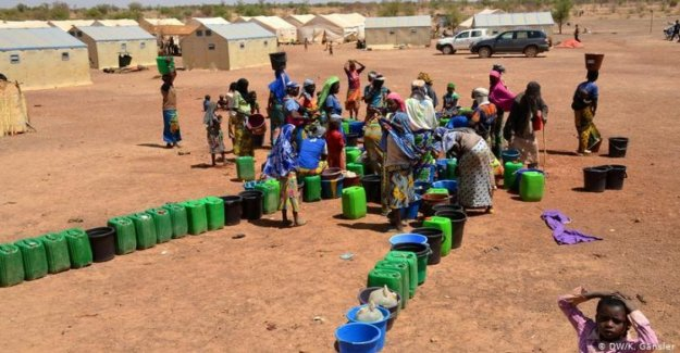 Burkina Faso, nearly two million people are without water, displaced people increased by 10 times