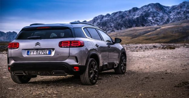 Citroën C5 Aircross, mid suv, the comfort and technology