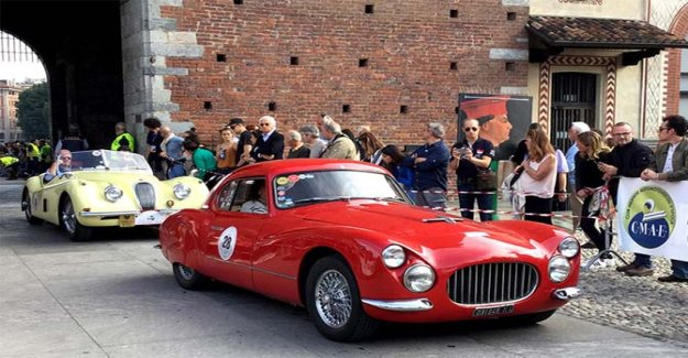 Free way to Milan for historic vehicles over 40 certificates