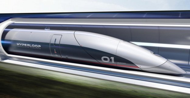 From Milan to the Malpensa airport and in 10 minutes to a thousand km/h: Fnm study the project of the train Hyperloop