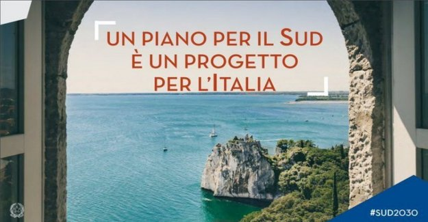 Gaffe of the government, in the manifesto of the plan for the South there is the castle of Duino (Friuli-Venezia Giulia)