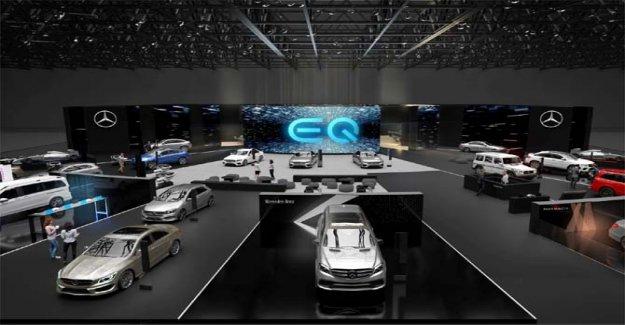 Geneva motor show, the all new Mercedes-Benz