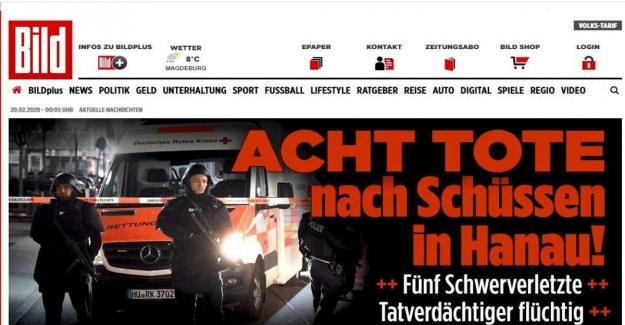 Germany, shooting to Hanau (Hesse): 8 dead and 5 injured