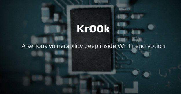 More than a billion devices with Wi-Fi-at-risk: all the fault of Kr00k