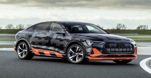 New Audi e-tron with three electric motors