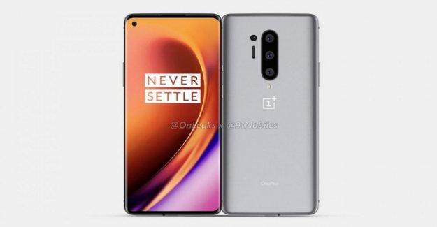 OnePlus 8, online for error characteristics and prices