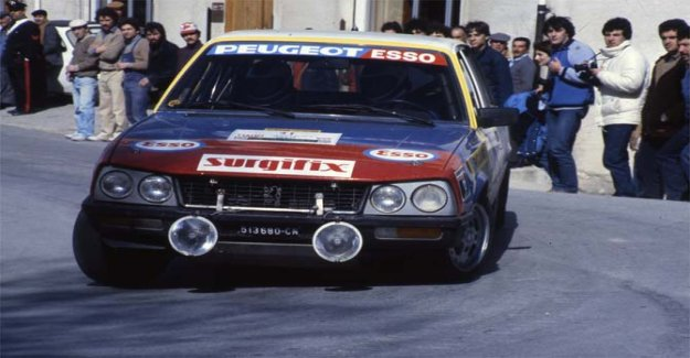 Peugeot 505 Turbo diesel, a surprise in the rally