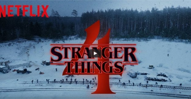 Stranger Things, the filming of the fourth season: From Russia with love