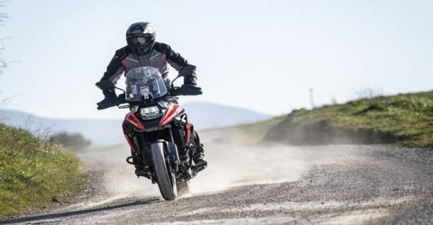 Suzuki V-Storm 1050XT, Enduro Sport is born