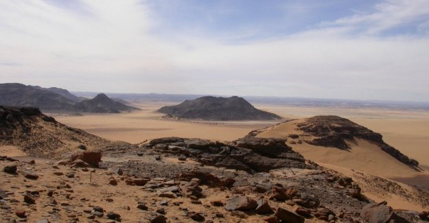 Ten thousand years ago the Sahara was inhabited by a people of fishermen