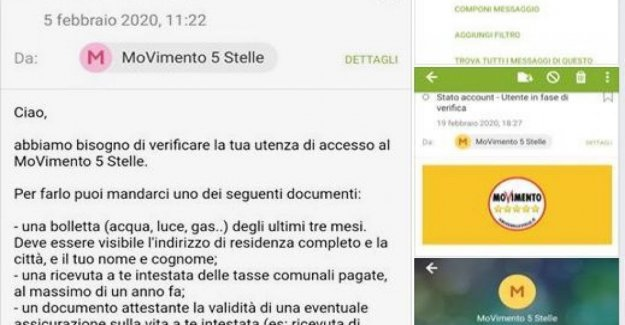The M5s, the complaint on Facebook: Rousseau asks for the bills to identify subscribers