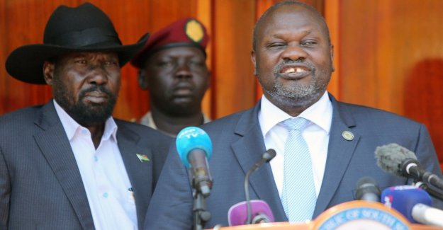 The South Sudan towards peace: there is agreement for a government of national unity