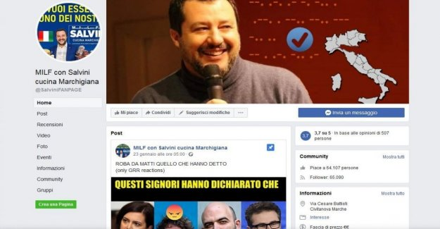 The fake site on Salvini collects 63 thousand fans. Many leaguers are not aware of the teasing and run to comment on