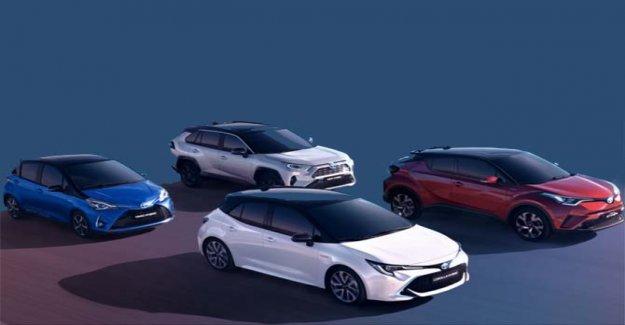 The record Toyota: 15 million hybrid sold