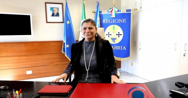 The region of Calabria, the proclamation of the president Santelli: The Captain Last councillor for the environment