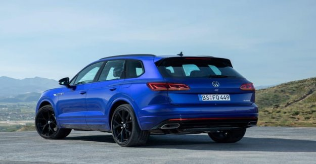 Volkswagen Touareg R, the hybrid that in a hurry