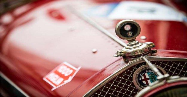 Alfa Romeo in the evidence of the 1000 Miglia