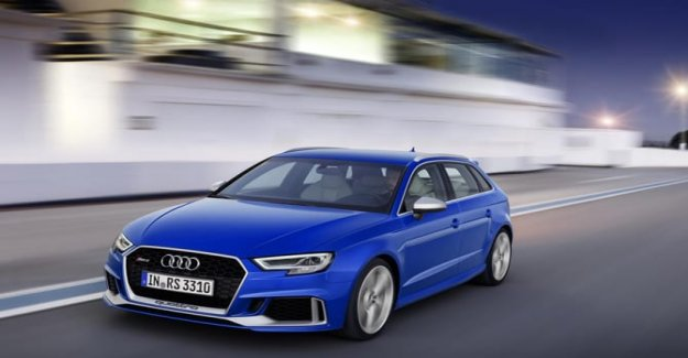 Audi RS 3 Sportback 25 yeaRS that show
