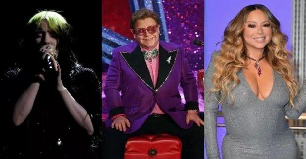 Coronavirus, Elton John guide stars at charity concert Usa