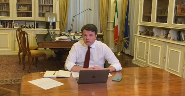 Coronavirus, Renzi: we Need one who commands. And speaking of the 'sun set': No fall of the government.