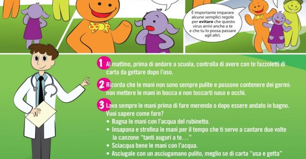 Coronavirus, a comic book and 7 rules to explain it to the children